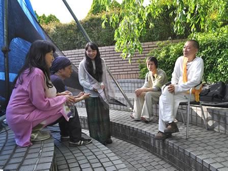 遠藤りょうきゅう&LAMANI ライブ後