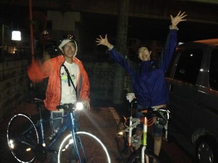 ピースサイクリング彦根到着